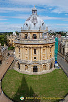 A great view of Radcliffe Camera from St Mary's Church spire