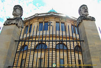 The Sheldonian Theatre was the first of Christopher Wren's buildings