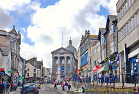 Market Jew Street - the main street in Penzance