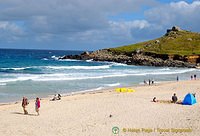 Porthmeor Beach and Tate St Ives