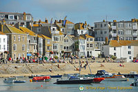 View of St Ives Harbourfront