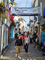 St Ives September festival was on