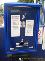 Train ticket machine at St Ives station