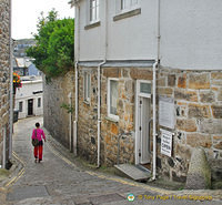 Back street of St Ives