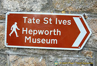 To the Tate St Ives and Hepworth Museum