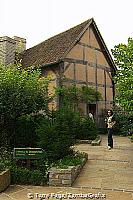 Shakespeare's house in Stratford[Stratford-upon-Avon - England]