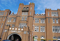 Camelot Castle Hotel was previously the King Arthur's Castle Hotel, built in 1899.