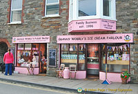 Granny Wobbly's Ice Cream parlour