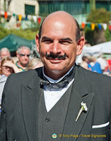 What a treat to meet Hercule Poirot