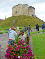 Clifford's Tower - Originally built by William the Conqueror