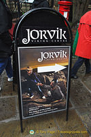 Learn about the Vikings in York at the Jorvik Viking Centre