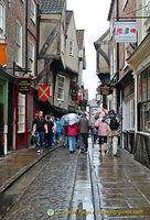The Shambles - If you like Earl Grey, the Earl Grey Tea Rooms is at  No. 13-14