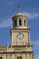 Clock tower of Arles Town Hall