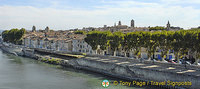 View of Arles from across the river