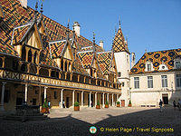 Court of Honour - Hospices de Beaune