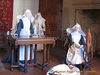 Saint Anne's Room - nuns working in linen room