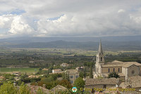 Cavaillon and Luberon, France