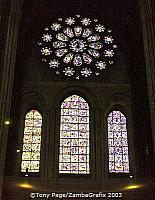 West Rose Window and Tree of Jesse panel