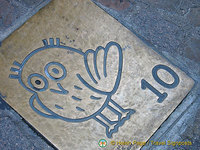 Attraction no. 10 on the Dijon Owl's Trail