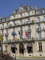 A grand hotel to stay at Sofitel Dijon La Cloche
