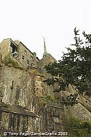 Mont St Michel lies strategically on the frontier between Normandy and Brittany [Mont-St-Michel - France]
