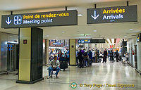 Arrivals Hall - CDG Airport