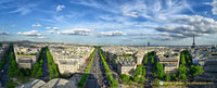 Paris Arc-de-Triomphe PanoramaA