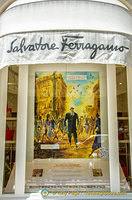 Salvatore Ferragamo at no. 45 Avenue Montaigne
