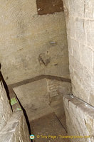 Steps in Catacombes