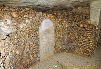 One of the Catacombes memorial