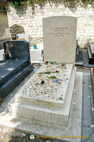 Grave of Jean Paul Sartre and Simone de Beauvoir