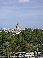 The Dome Church with its glittering gold roof was originally built as Louis XIV's private chapel - Les Invalides