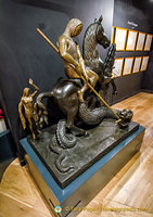 Dalí Sculpture - Saint George and the Dragon