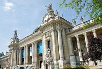 The Grand Palais was built for the Universal Exhibition in 1900