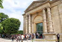 The Orangerie at the west end of the Jardin des Tuileries