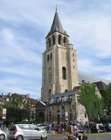 Eglise St-Germain des-Prés - oldest church in Paris