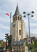 Eglise St-Germain des-Prés - first built in 542