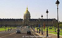 Grand entrance to Les Invalides