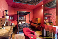 Victor Hugo's bedroom and where he died