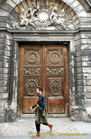 Yet another interesting wooden door