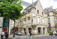 Corner of rue Vieille-du-Temple and rue des Francs-Bourgeois, two trendy Marais streets