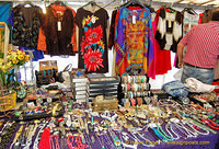 Costume jewelry and women's blouses