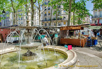 Place Monge in the 5th arrondissement