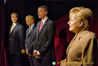 Angela Merkel and King Juan Carlos, Putin and Barack Obama