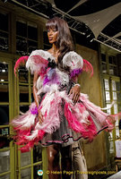Naomi Campbell struts the catwalk