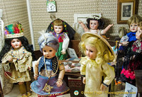Dolls representing different countries