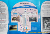 Tour plan of the Paris Sewer Museum and what you'll see