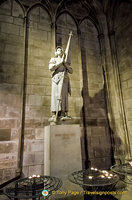 Statue of Sainte Jeanne D'Arc
