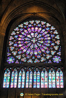 This South Rose Window was a gift from King Saint Louis