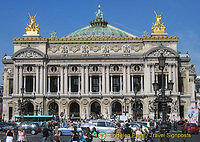 Palais Garnier with its copper-green roofed cupola